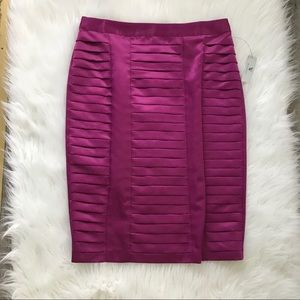 New Worthington Neon Satin Skirt a12